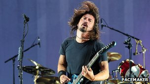 Foo Fighters front man Dave Grohl