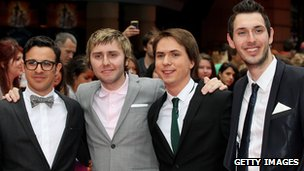 Actors  Simon Bird, James Buckley, Joe Thomas and Blake Harrison