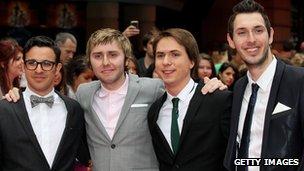 Actors  Simon Bird, James Buckley, Joe Thomas and Blake Harrison