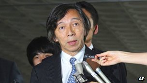 File photo: Masatoshi Muto, Japanese ambassador to South Korea