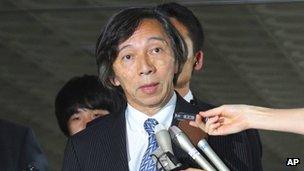 File photo: Masatoshi Muto, Japanese ambassador to South Korea