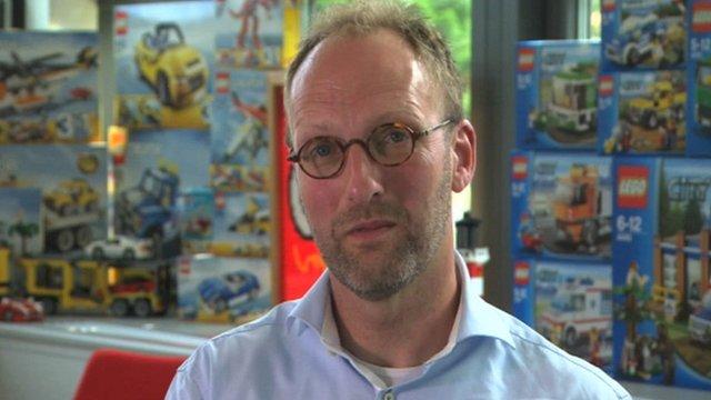 Lego group chief executive Jorgen Vig Knudstorp