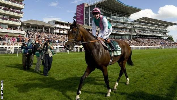 Frankel wins York's Juddmonte International