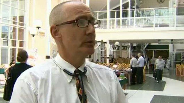 Dr Chris Hudson of Neath Port Talbot Hospital
