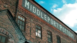 Middleport Pottery factory