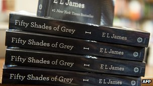 Copies of Fifty Shades of Grey