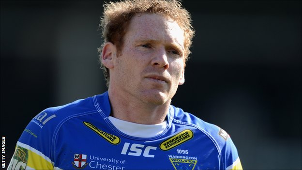 Warrington Wolves winger Joel Monaghan