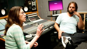 Susan Rogers delivers a lesson at Berklee University