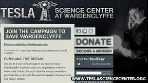 Screengrab, www.teslasciencecenter.org