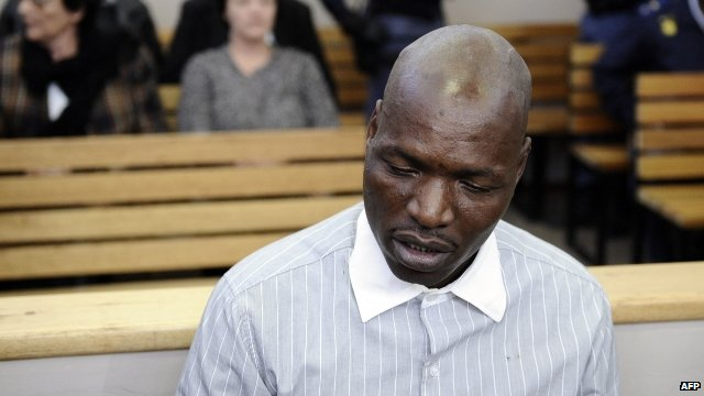 Chris Mahlangu in court in Ventersdorp