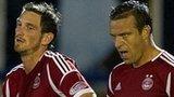 Aberdeen players celebrating