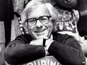 Ray Bradbury, pictured in 1982