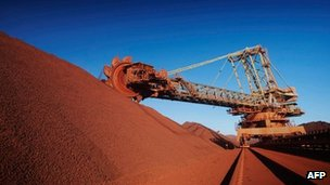 BHP Billiton Western Australia iron ore mine