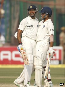 VVS LAxman and Saurav Ganguly