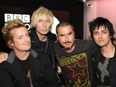 Green Day and Zane Lowe