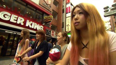 Gal-mamas in Japan