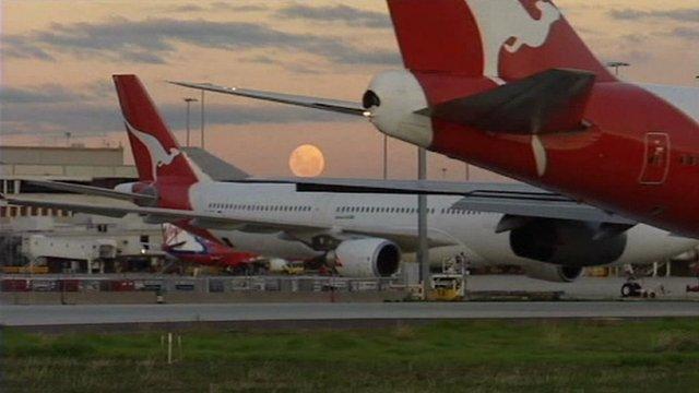 Qantas aircrafts