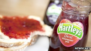 Hartley's jam