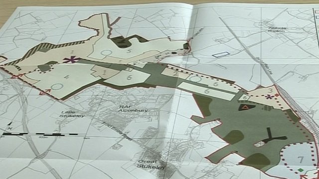 Plans for Alconbury Weald