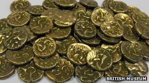 Coins being purchased by museum in Cambridgeshire