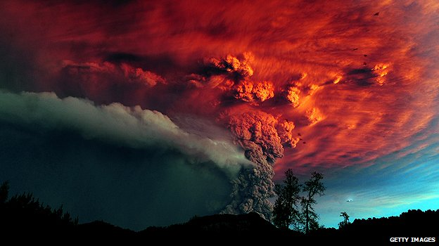 Eruption at Puyehue-Cordón Caulle volcanic complex
