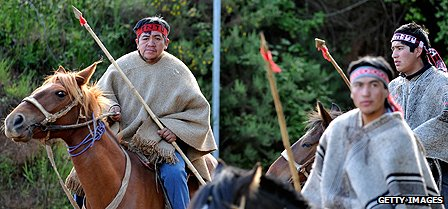 Mapuche natives