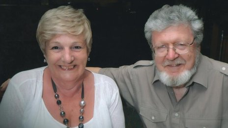 Ann Hone and husband Michael