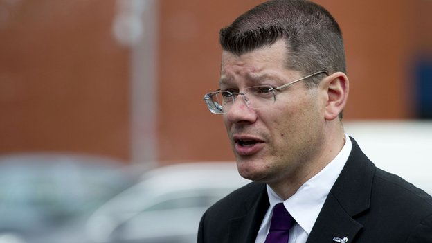 SPL chief executive Neil Doncaster