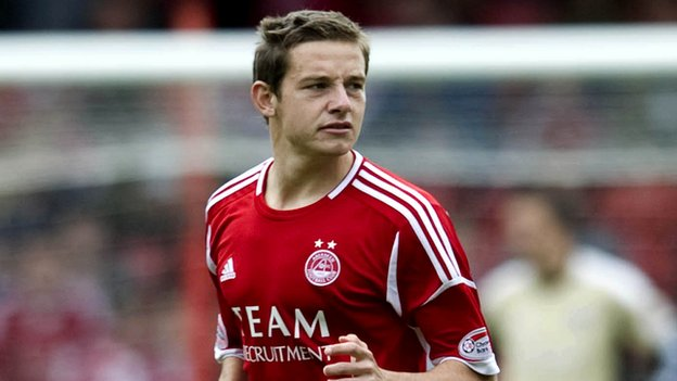 Aberdeen midfielder Peter Pawlett
