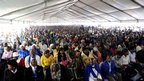 Memorial service at  the Lonmin mine. 23 Aug 2012