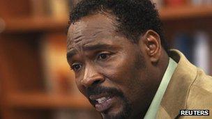 Rodney King in New York City 24 April 2012