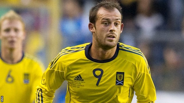 Scottish striker Steven Fletcher