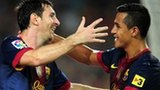 Lionel Messi and Alexis Sanchez
