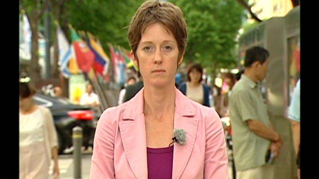 Lucy Williamson, Seoul correspondent