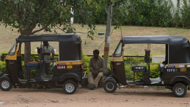 auto rickshaw rank
