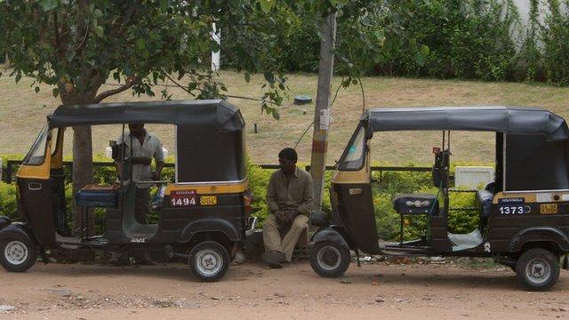 auto rickshaw rank