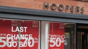 Hoopers department store in Carlisle will close on Saturday