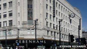 Debenhams Manchester