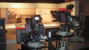 tv studio