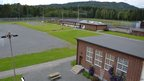 An undated handout picture distributed by Ila Prison shows the recreational area at Ila prison, Norway