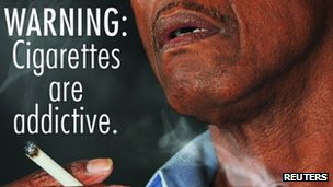 Cigarette packaging proposed by the FDA