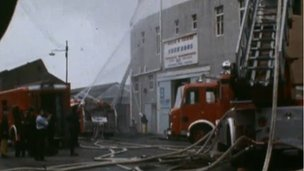 Picture of the 1972 Kilbirnie Street fire