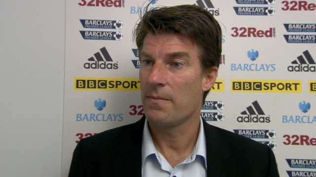 Swansea manager Brian Laudrup