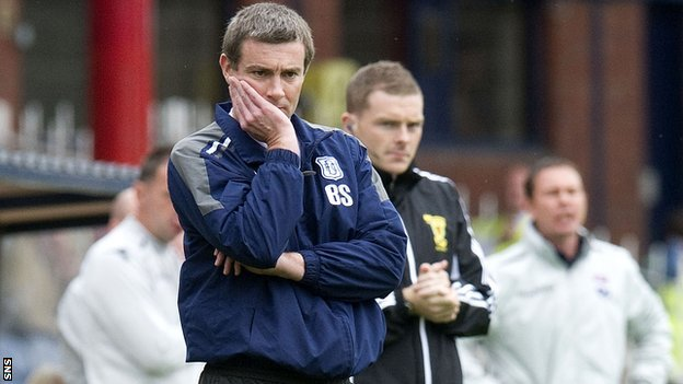 Dundee manager Barry Smith has plenty to ponder