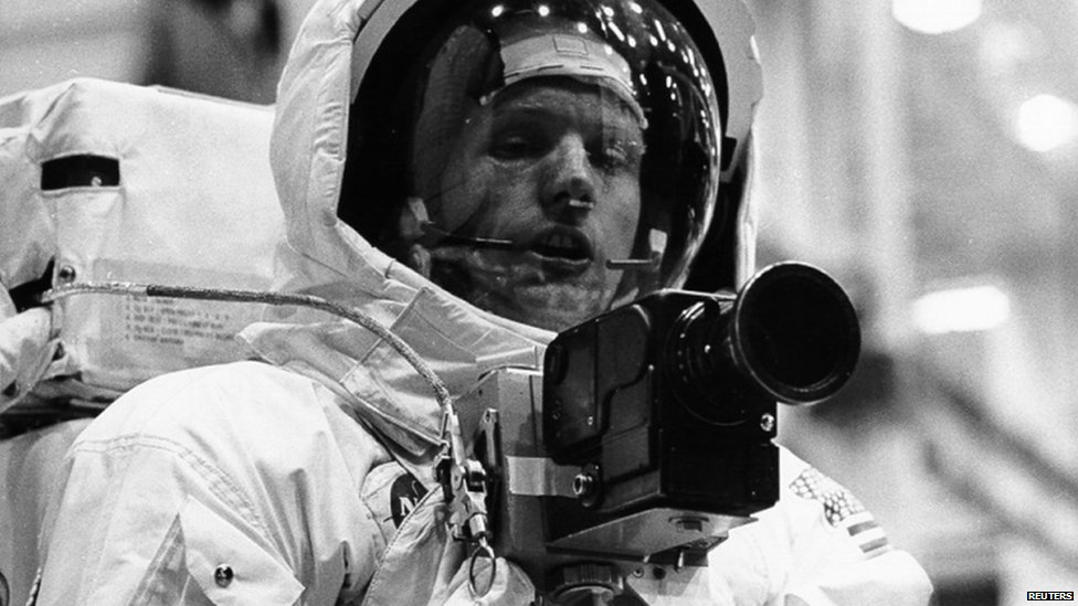 BBC News - Life in pictures: Neil Armstrong