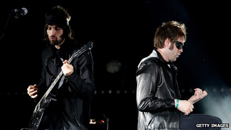 Sergio Pizzorno and Tom Meighan