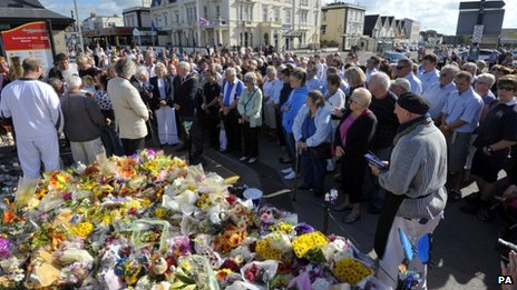 Minute's silence in Burnham for Dylan Cecil