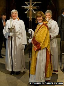 Lichfield Cathedral clergy