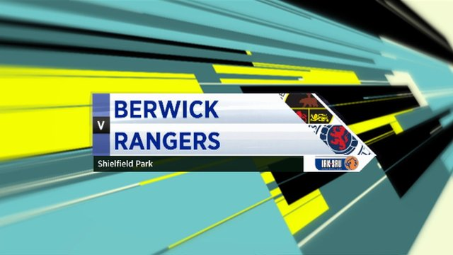 Highlights - Berwick Rangers 1-1 Rangers