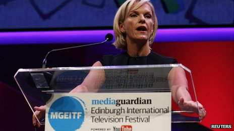 Elisabeth Murdoch rehearses her MacTaggart Lecture